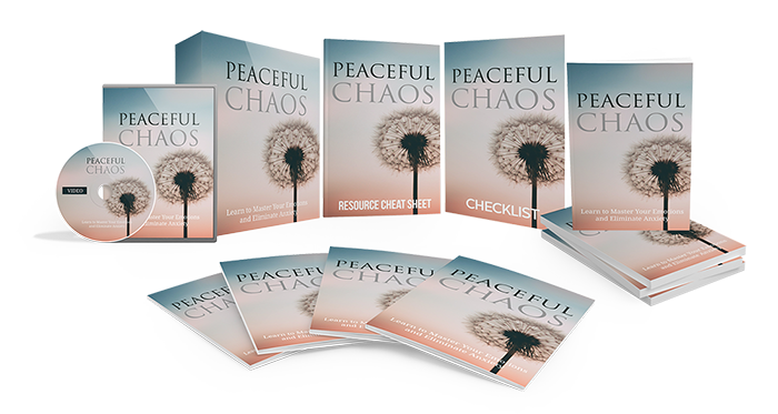 Peaceful Chaos 30 Day Formula™ Digital Learning Experience